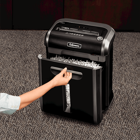 Opening Fellowes Powershred 79Ci Paper Shredder