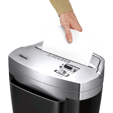 Putting Paper In Shredder